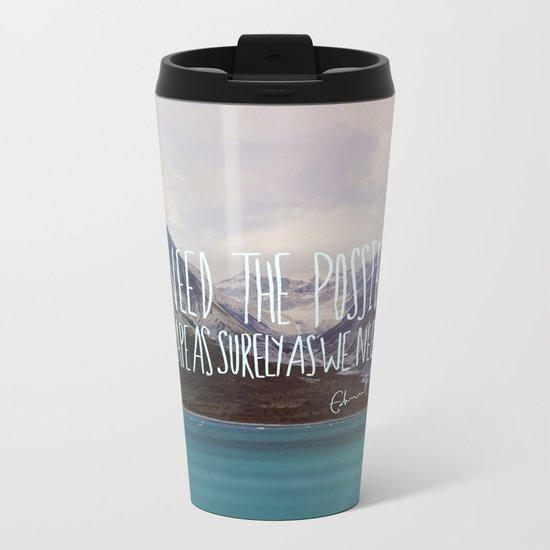 Escape x Alaska Metal Travel Mug