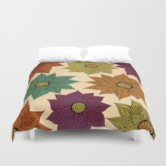 Color Me Floral Duvet Cover