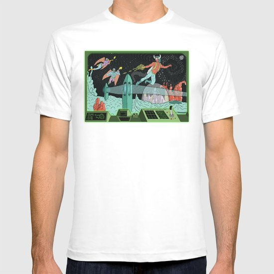 Surveillance of Moon Base 23 T-shirt