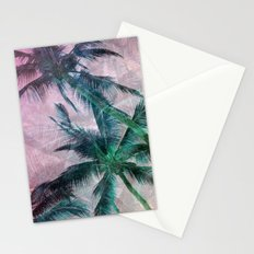 Textured Palms II Stationery Cards