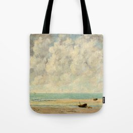 The Calm Sea - Gustave Courbet Tote Bag