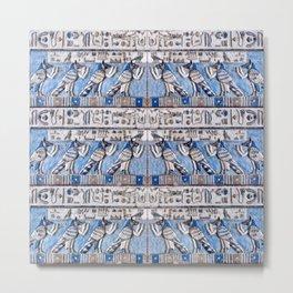 Egyptian Pattern II Metal Print