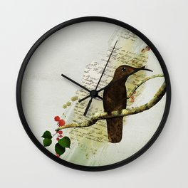 Preety Dirty Little Things Wall Clock