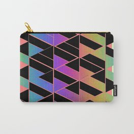 RAINBOW GEOMETRIC STRUCTURE Carry-All Pouch
