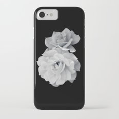 Black and White Roses iPhone 7 Slim Case