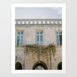 Church of Saint Anne's Gardens - Holy Land Fine Art Photography Art Print