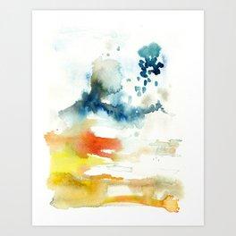 Ominous Silence Art Print