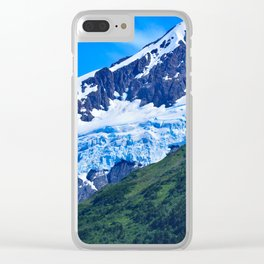 Whittier Glacier - I Clear iPhone Case