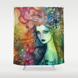 Nights Escort Shower Curtain