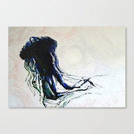 ocean creature Canvas Print