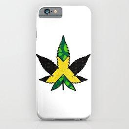 Jamaican Pride  Marijuana Leaf iPhone Case