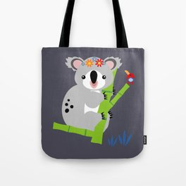 Lady Koala Tote Bag
