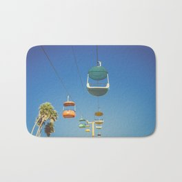 Santa Cruz Boardwalk Gondolas II Bath Mat