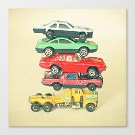 Pile Up Canvas Print