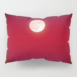The Moon In Red Pillow Sham