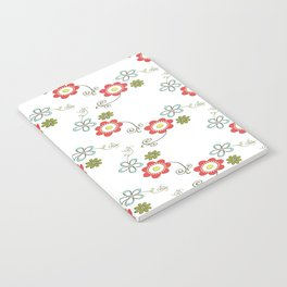 Ditsy Flower Chain Notebook