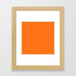 So Pumpkin Framed Art Print