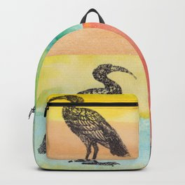 Four Ibis Silhouettes Backpack