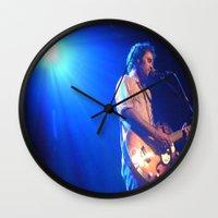 israel Wall Clocks featuring Israel Nebeker by S.R. Londer