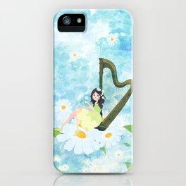Harp girl 3: Daisy iPhone Case