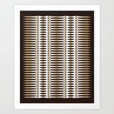 Atomic Spears Art Print