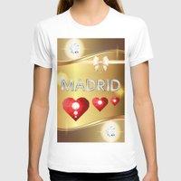 madrid T-shirts featuring Madrid 01 by Daftblue