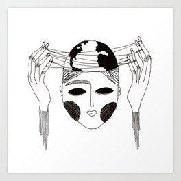 Manipulation Art Print