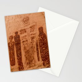 Great Gallery Holy Ghost Pictograph - Canyonlands National Park Stationery Cards