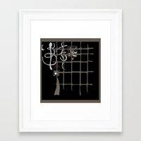 kandinsky Framed Art Prints featuring Kandinsky...comics! by Marcia Borges