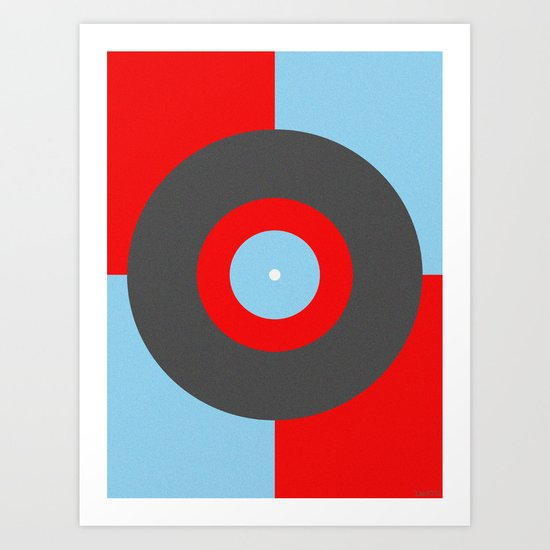 TOP OF THE POPS Art Print