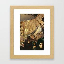 Widows in the City Framed Art Print