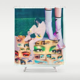 EYES IN SIGHT Shower Curtain