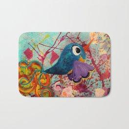 Fancy - Quirky Bird Series Bath Mat