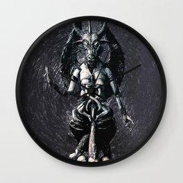 Baphomet Wall Clock