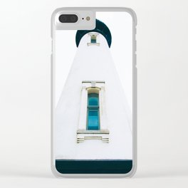 Yaquina Head Lighthouse Clear iPhone Case