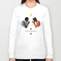 collage Long Sleeve T-shirts featuring Bland | Collage by Julien Ulvoas