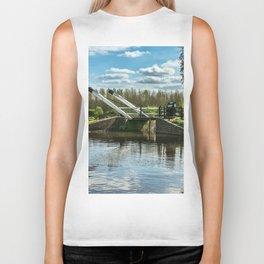 Bridge 221 On The Oxford Canal Biker Tank