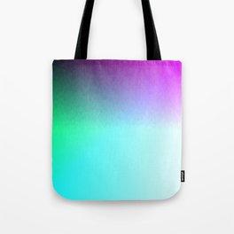 Six Color Ombre Cyan, Purple, Green, Pink, Purple, Blue, Spectrum Flame Tote Bag