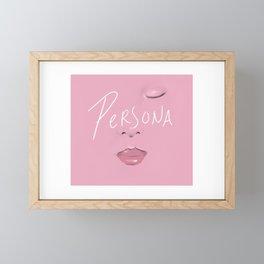 Pink for Boys Framed Mini Art Print