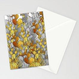 Metallic Desert Stationery Cards