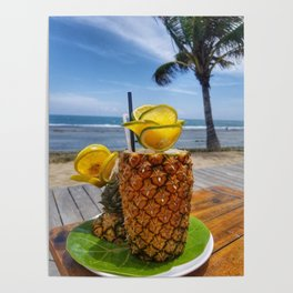 Pineapple Paradise Poster