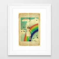 dorothy Framed Art Prints featuring Dorothy by Robin Curtiss