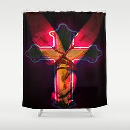 CECI EST MON SANG this is my blood Shower Curtain
