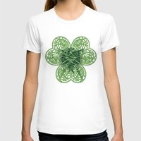 clover T-shirts featuring CLOVER by RAIDHO