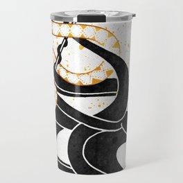 Medusa's Snakes Inktober :: Darlings, Don't Fear Me Travel Mug