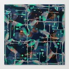 Watercolor Abstract Canvas Print