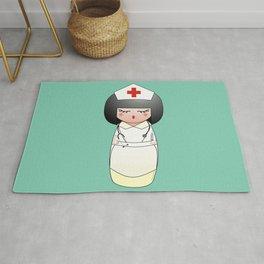Kokeshi Nurse Rug