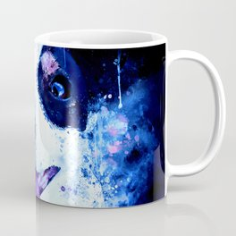 jack russell terrier dog crazy eyes ws cb Coffee Mug