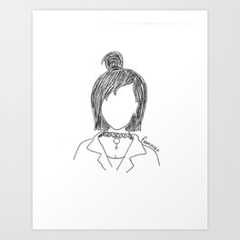 Chokers are In. Art Print