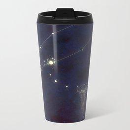 Sea Lights Metal Travel Mug